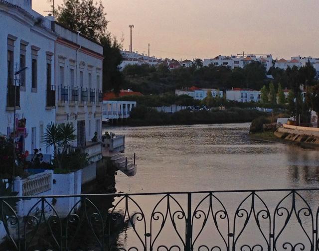 view from roman bridge