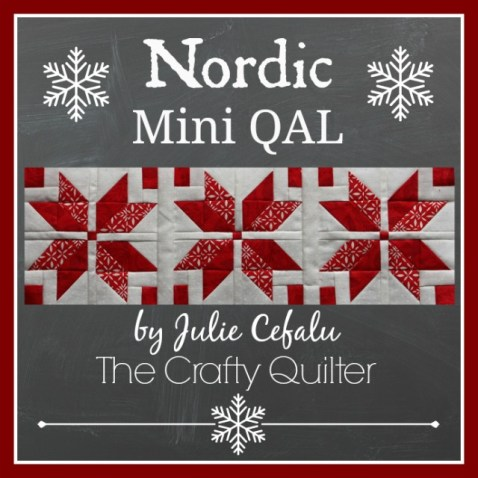 Nordic Mini QAL @ The Crafty Quilter