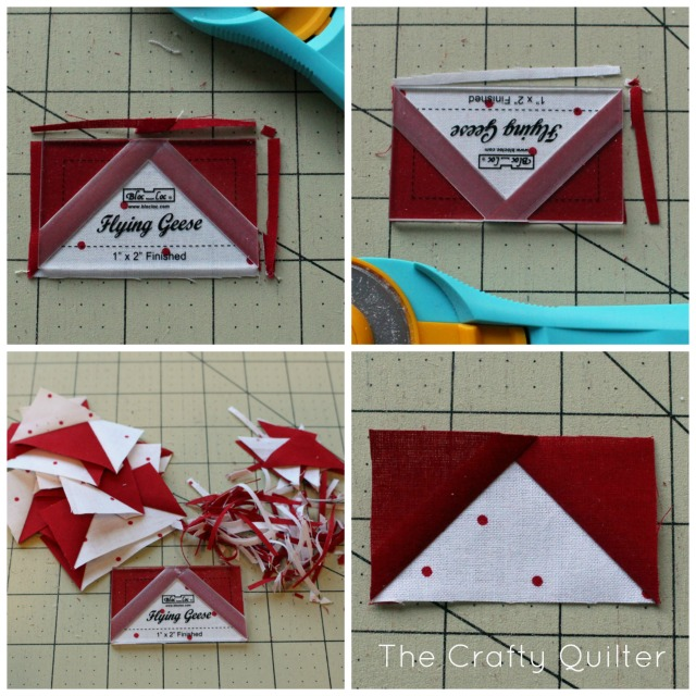 Nordic Mini QAL at The Crafty Quilter - using the Bloc_Loc ruler