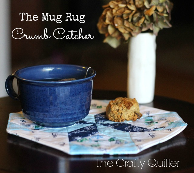 Mug Rug Crumb Catcher