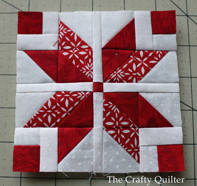 Nordic Mini Quilt Along Row 1 The Crafty Quilter