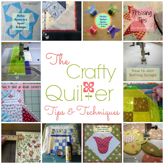 Tips & Tutorials @ The Crafty Quilter