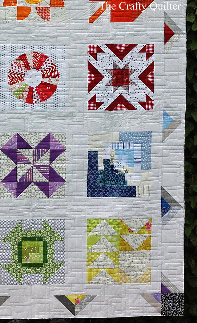 Classic Meets Modern quilt finish and some wip's - The Crafty Quilter : classic modern quilts - Adamdwight.com