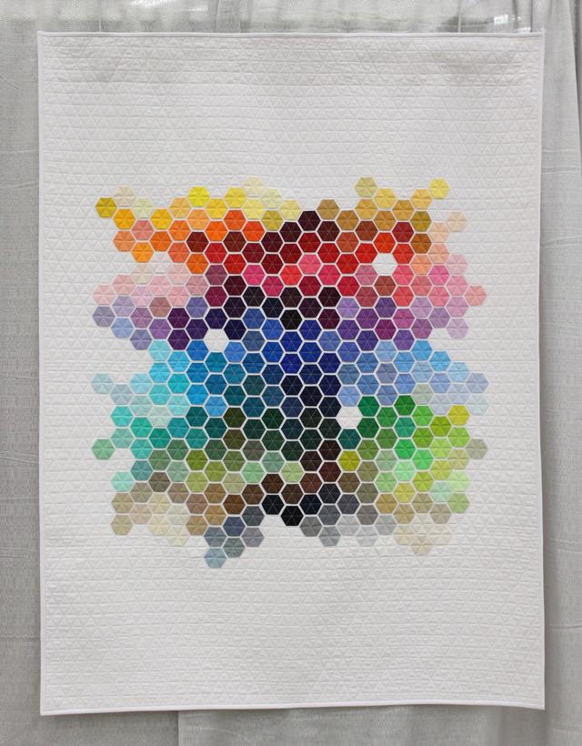 """""""Geometric Rainbow"""" by Nicole Daksiewicz"""