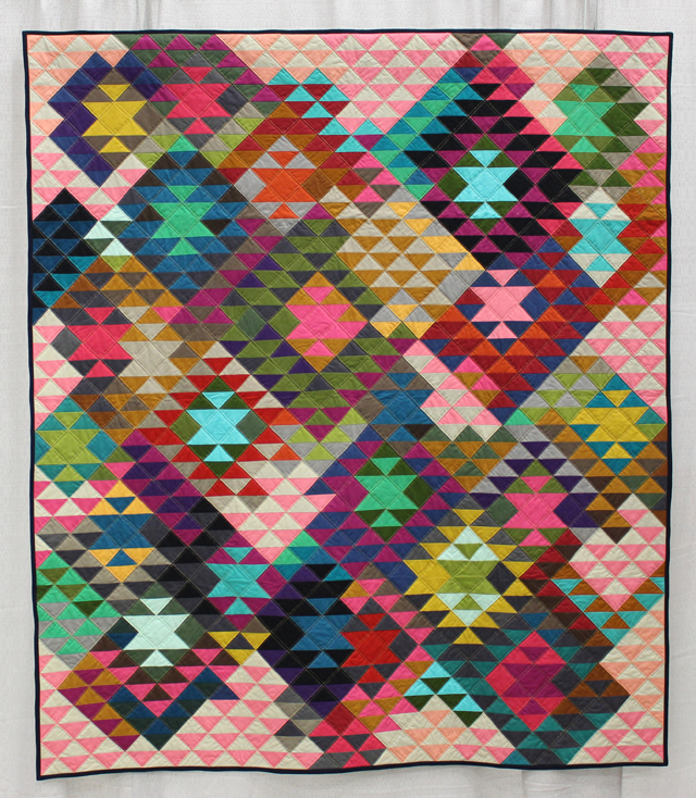 """Half Square Triangles"" by Tara Faughnan"
