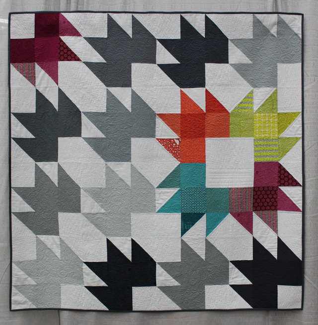 """Spiced Chai Quilt"" by Katie Blakesley"