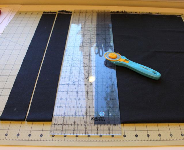 binding cut strips