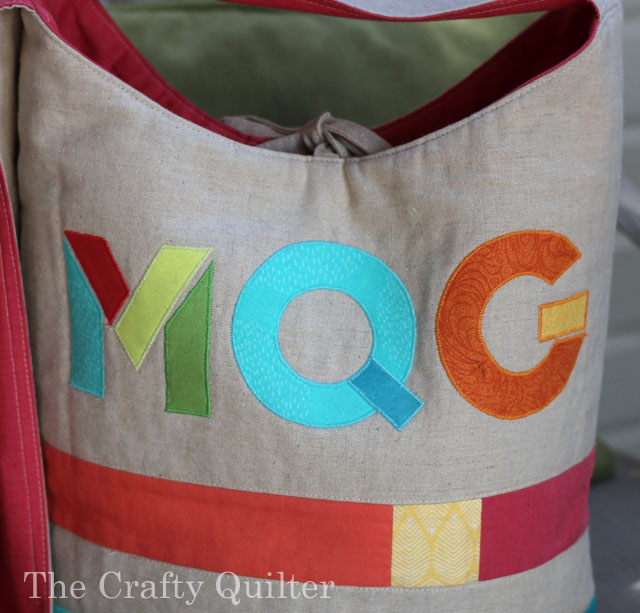 Color Block Bucket Bag (MQG Version) by Julie Cefalu, in Modern Patchwork Magazine