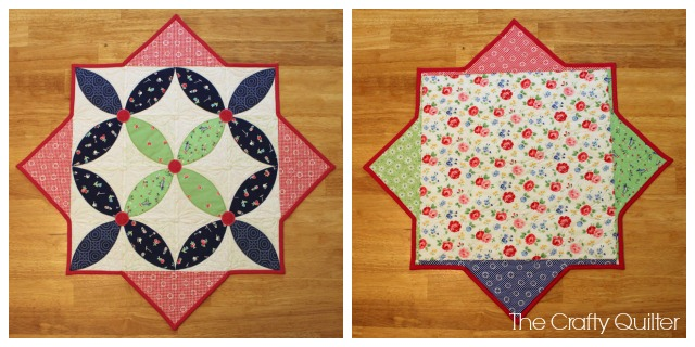 Spring Petals Quilt Along, Lesson 5:  Binding.  @ The Crafty Quilter
