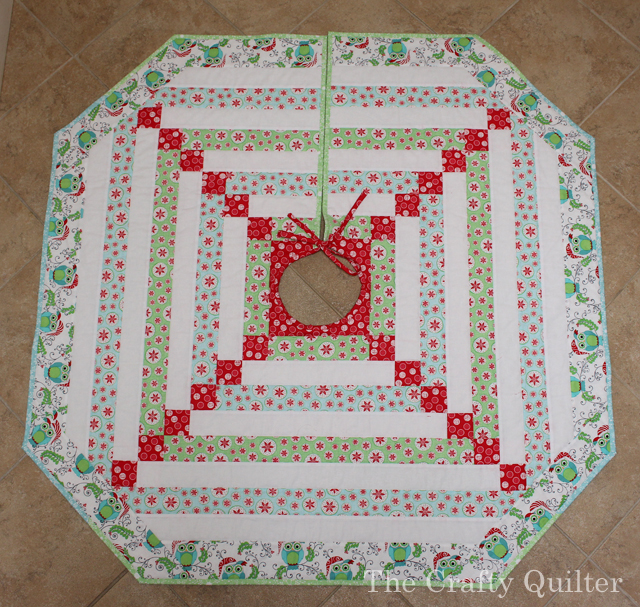 Christmas Tree Skirt Complete copy