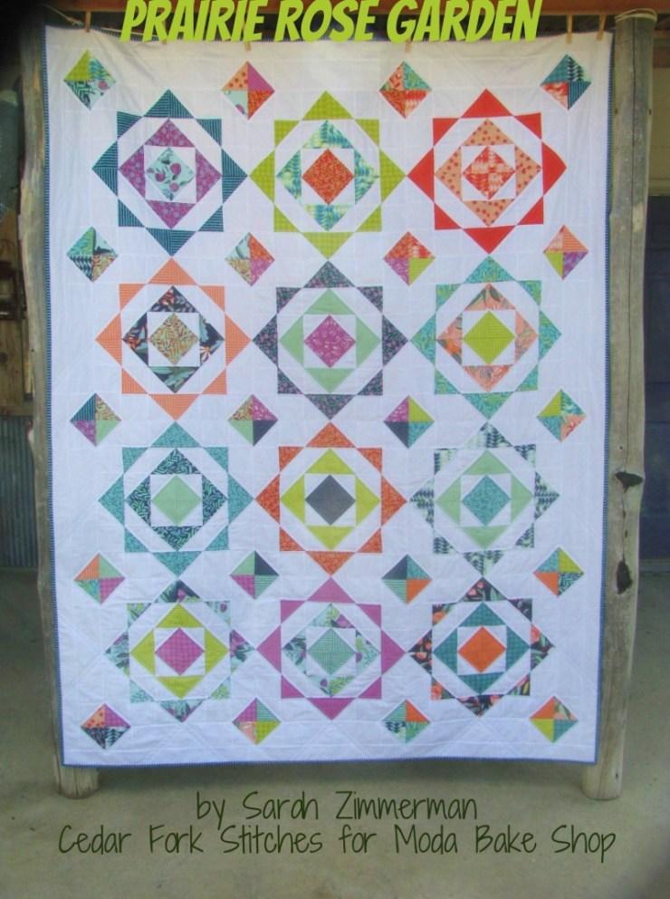 Prairie Rose Garden Quilt