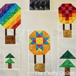 Hot Air Balloon Mini Quilt