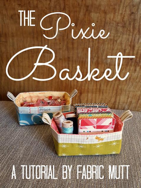 The Pixie Basket Tutorial