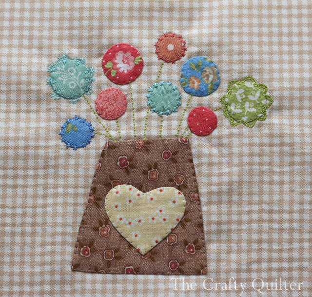 Splendid Block 5 by Julie Cefalu @ The Crafty Quilter