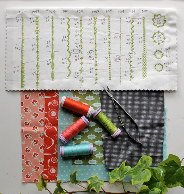 Embroidery Stitch Sampler @ The Crafty Quilter
