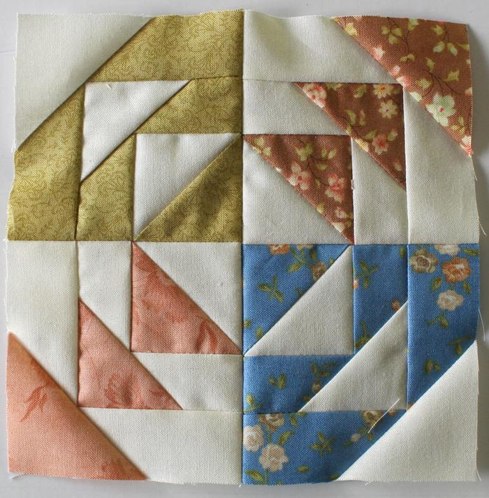 Splendid Sampler Block 22 by Julie Cefalu