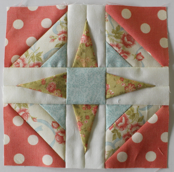 Splendid Sampler Block 23 by Julie Cefalu