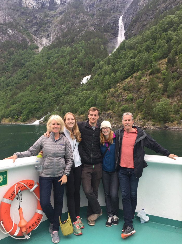 The Cefalu's in Norway