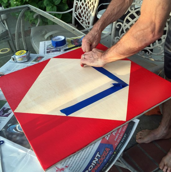 busy board painting