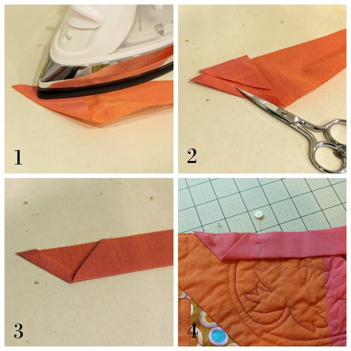 Binding Tips: How To Join Binding Ends With The Pocket
