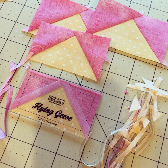 Bloc loc ruler, Flying geese trim tool @ The Crafty Quilter