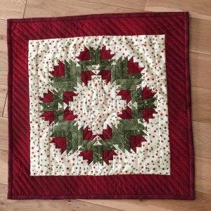 Paper Pieced Wreath by Margo M.