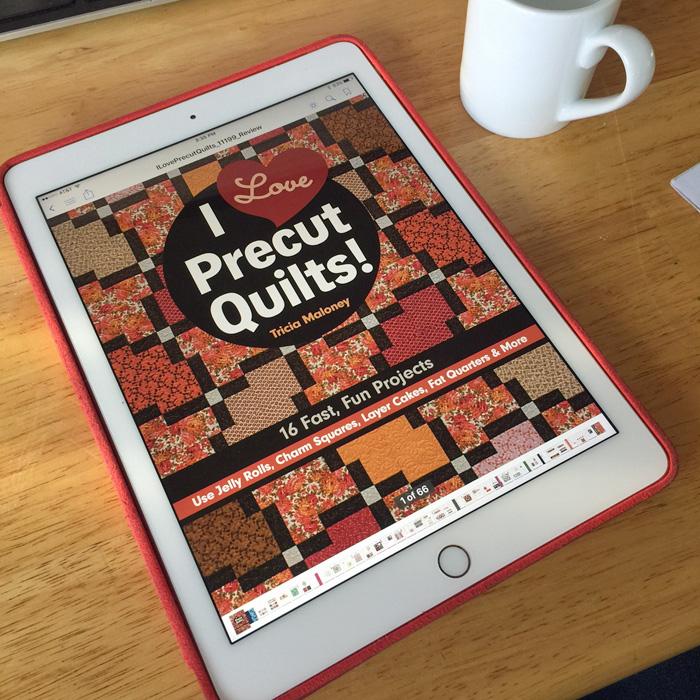 I Love Precut Quilts! Blog Hop