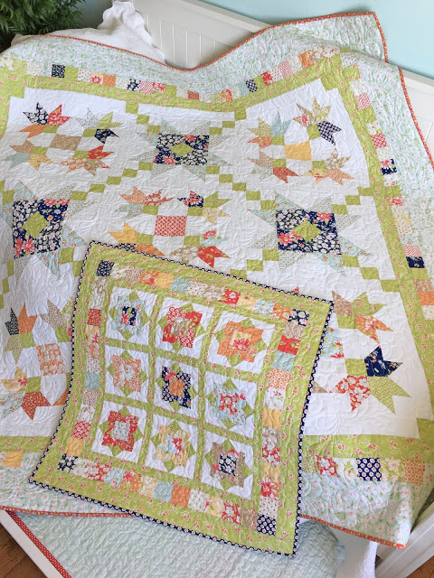 New Patterns: Purely Petals and Wallflowers at Carried Away Quilting