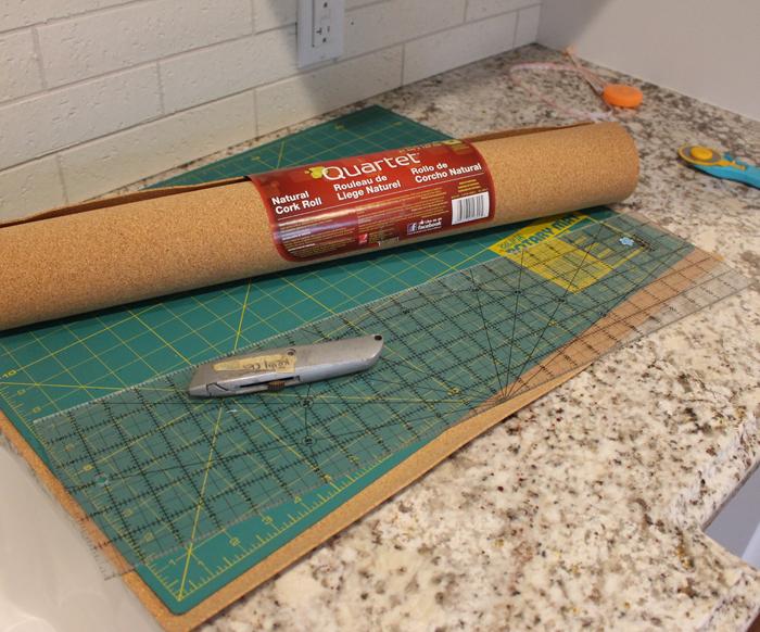 March favorite: Cork shelf liner