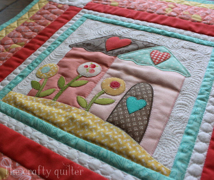"Jacquelynne Steves' ""I Love Home"" FREE BOM, Month 1, made by Julie Cefalu @ The Crafty Quilter"