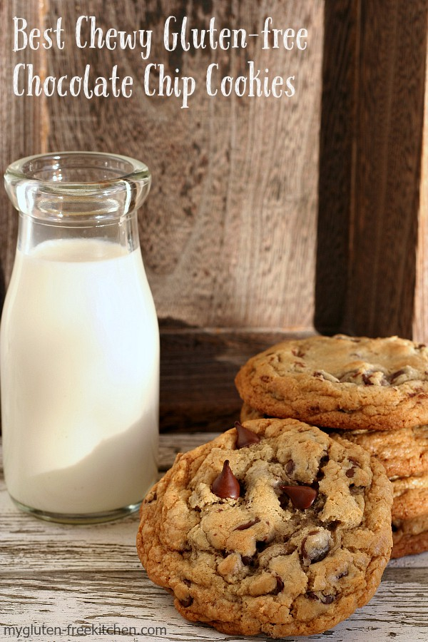 The Best Chewy Gluten -free Chocolate Chip Cookie from My Gluten Free Kitchen