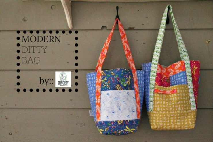 Modern Ditty Bag by Modern Sewciety for the Janome Blog