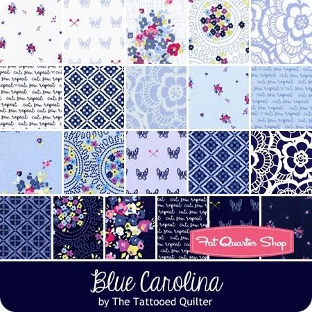 Blue Carolina fat quarter bundle @ Fat Quarter Shop