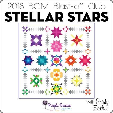 Stellar Stars BOM @ Purple Daisies
