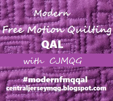Modern Free Motion Quilting QAL with CJMQG and Jess @ Quilty Habit