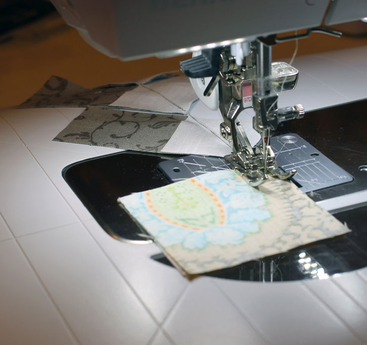 How and why to use leaders and enders in your quilting for an efficient use of your sewing time. From Julie at The Crafty Quilter