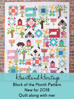 Heartland Heritage BOM @ The Sewing Loft
