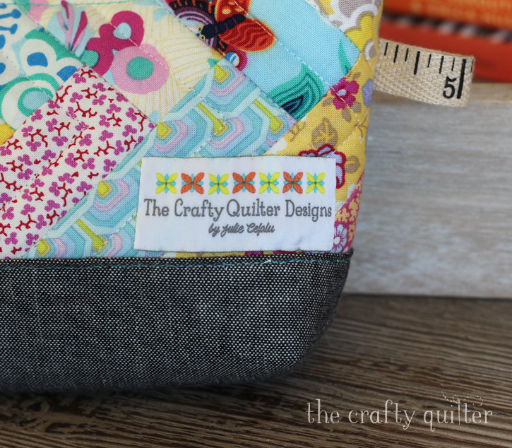 Custom labels from The Dutch Label Shop @ The Crafty Quilter