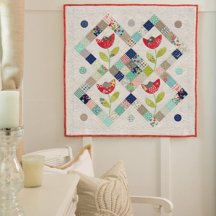 Tulip Time by Pat Sloan for Mini Charm Quilts