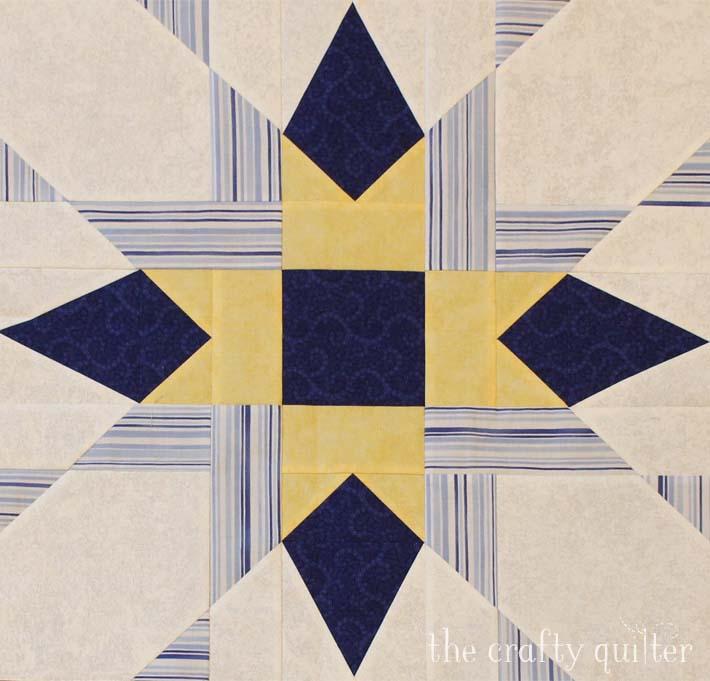 Franklin Star block made by Bonnie Fredrickson