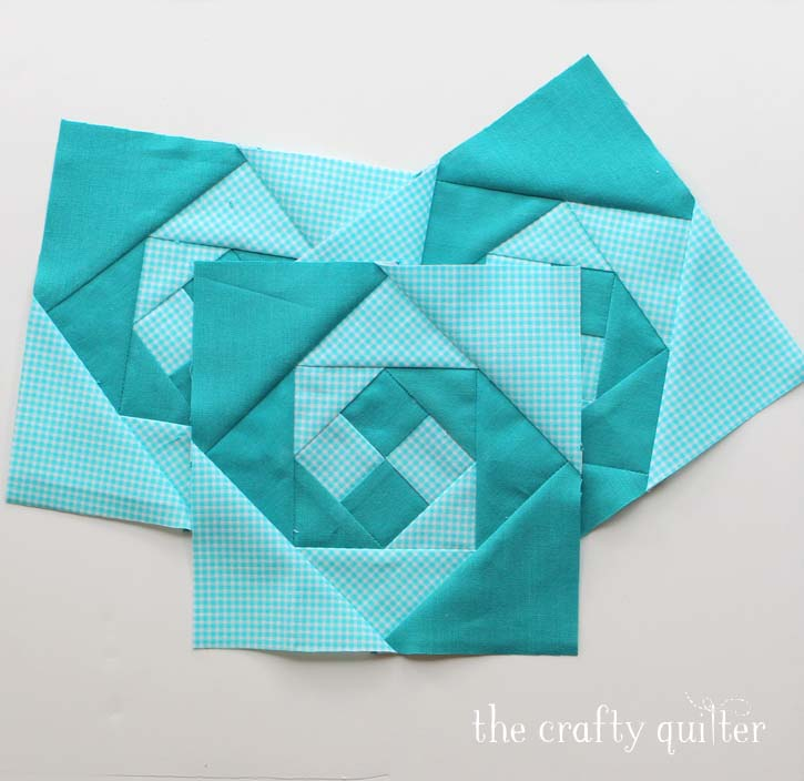 "Summer Fun Quilt Along @ The Crafty Quilter features a bright and happy wall hanging that measures 30"" x 32"". Week 1 instructions include the checkerboard rows and the wave blocks."