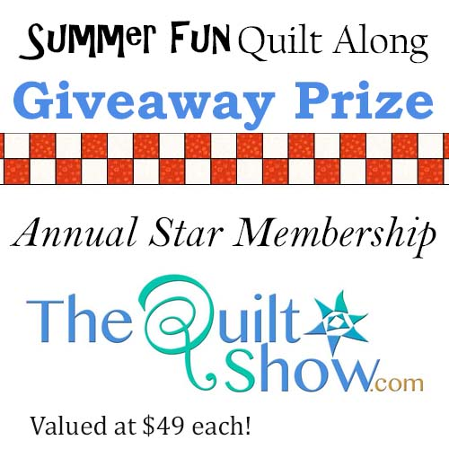 Summer Fun Quilt Along Link Up and Prizes