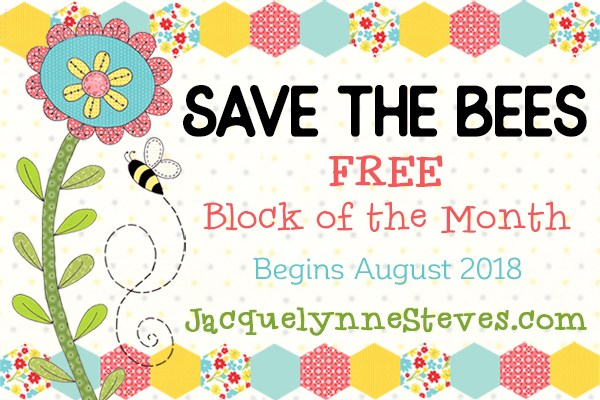 Save the Bees FREE BOM @ Jacquelynne Steves