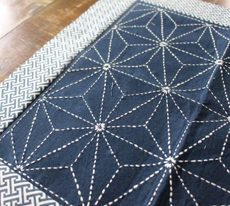 Wednesday WIP (work in progress) Sashiko @ The Crafty Quilter