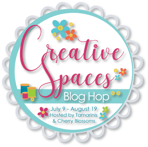 Creative Spaces Blog Hop hosted by Cherry Blossom and Tamarinis