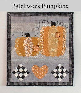 Patchwork Pumpkins Wall Hanging