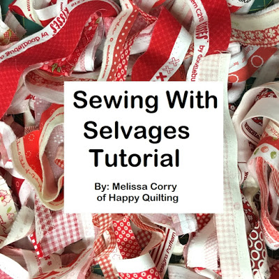Sewing with Selvages Tutorial @ Happy Quilting