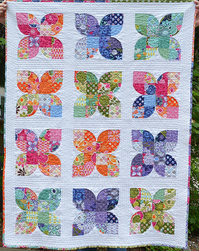 Butterfly Quilt @ She Can Quilt