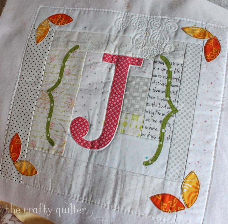 Mini Quilt designed and made by Julie Cefalu @ The Crafty Quilter