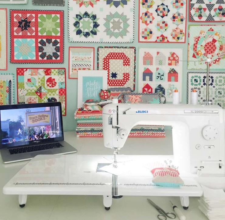 A talk about sewing machines: Camille Roskelly of Thimble Blossoms @ Simplify